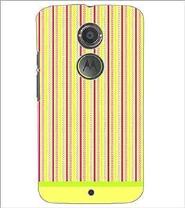 PrintDhaba Pattern D-1594 Back Case Cover for MOTOROLA MOTO X2 (Multi-Coloured)