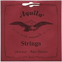 Aquila Red Series aq-83ukulele soprano Strings–High g–Set di 4corde