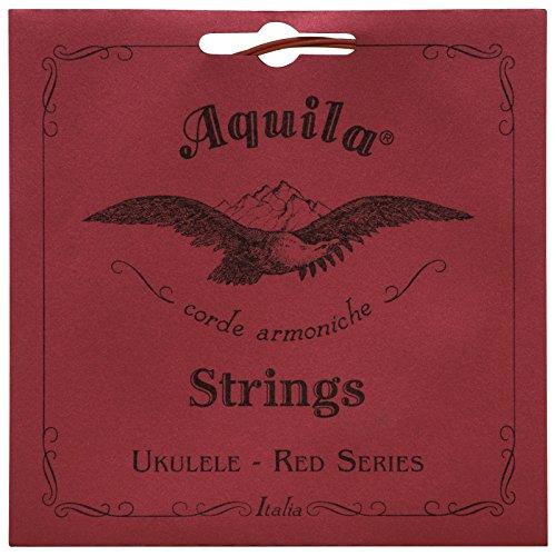 Aquila Red Series aq-85Konzert Ukulele Saiten–Hohe G–Set von 4Saiten