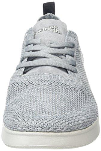 Boxfresh Herren Yansta Sneaker Grau (Modern Dark Grey)