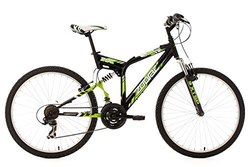 KS Cycling Fahrrad Mountainbike MTB Fully Zodiac