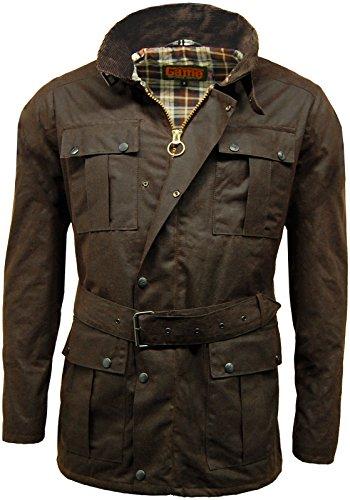da-uomo-game-100-cotone-cerato-giacca-da-motociclista-continentale-belted-motociclista-wax-moto-giac