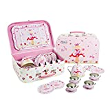 Best Toys For Girls Age 4s - Fairy Tale Tin TEA SET Carry Case Toy Review