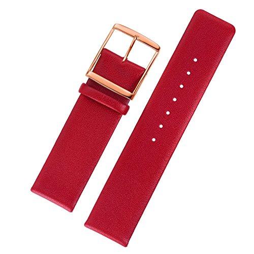 20-mm-rosso-cuciture-non-orologio-braccialetti-liscia-sottile-di-lusso-con-mode-rosso-fibbia-dorata