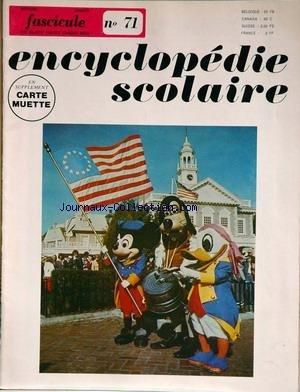ENCYCLOPEDIE SCOLAIRE [No 72] du 31/12/2099