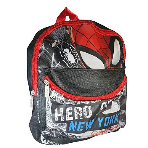 Borraccia In Tritan Spiderman BPA FREE Per Bambini Bambino Scuola Asilo - Articolo Originale - Cannuccia Integrata Senza Plastificanti e Tappo Antigoccia