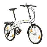 Multibrand, PROBIKE Folding 20 Klapprad Faltrad 20 Zoll, 310 mm, Folding City...