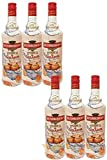 Rushkinoff Vodka & Caramelo, 6er Pack (6 x 1,0 l)