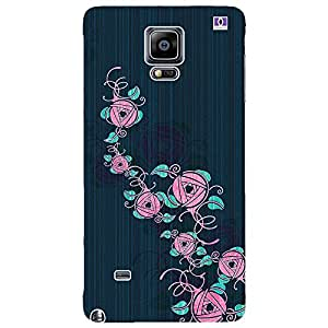 Pink Design - Mobile Back Case Cover For Samsung Galaxy Note 4 Edge