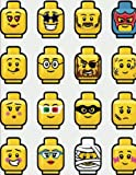Lego Emoji Composition Notebook for Boys in Grade School: Bricks and Block School Journal for Elementary Student, Wide-Ruled, 120 pages, Letter Sized 8.5 x 11 inch; 21.59 x 27.94 cm