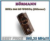 Handsender HÖRMANN HSE2 BS 868 Wurzelholz dunkel , 868,35 Mhz