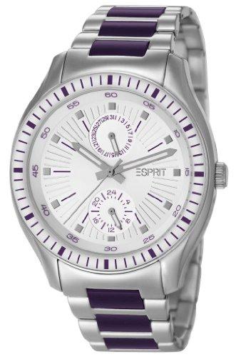 Esprit Gents Watch XL Vista Purple ES105632004 Analogue Quartz Stainless Steel