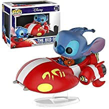 Funko - Figurine Disney - Stitch On Red One Exclu Pop Rides 15cm - 0889698232340