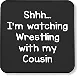 Hippowarehouse Shhh… I'm watching Wrestling with my Cousin - Best Reviews Guide