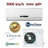 Mono Klimagerät Split 9000Btu/H Inverter DC fanair-fantini Cosmi