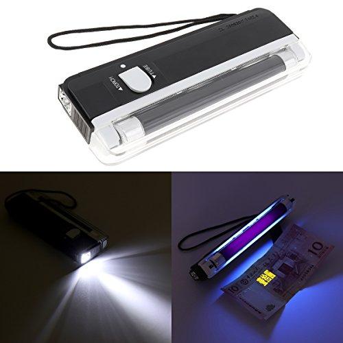 Linterna de luz negra ultravioleta portátil, Luz ultravioleta de luz negra,...