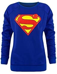 Pull superman batman-shirt superwoman haut