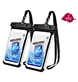 Tarkan Edge Waterproof Pouch for Mobile Phones, Universal Dry Bag IPx8 Case Cover