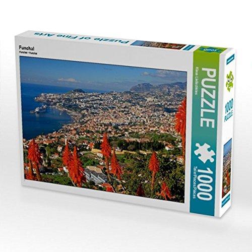 Funchal 1000 Teile Puzzle quer (CALVENDO Orte)