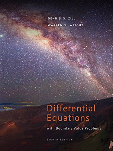 Differential Equations with Boundary-Value Problems (Textbooks Available with Cengage Youbook) por Dennis G. Zill