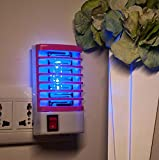GAOLIQIN Mini LED Electronic Indoor Insect Killer, Bug Zapper, Multifunction Household Photocatalyst Mosquito Lamp, Socket, Environmental Protection Mosquito Killer Lamp (1PCS) (Color : Pink)
