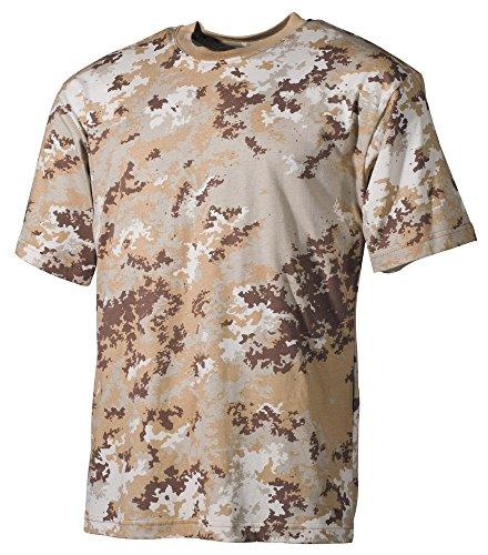 US T-Shirt, halbarm 170 g/m² Vegetato Desert