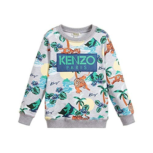 17acb966 Kenzo Kids Jungle Tiger Sudadera Grey 6 Years