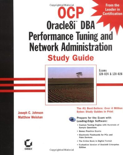 OCP: Oracle8i DBA Performance Tuning and Network Administration Study Guide (Ocp: Oracle8i Study Guides) by Joseph C. Johnson (2000-09-21)
