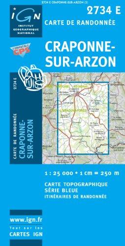 Craponne-sur-Arzon GPS: Ign2734e