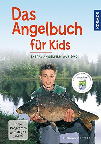 """Preisvergleich Produktbild Das Angelbuch für Kids: Inklusive DVD: """"Der Angelfilm für Kids"""