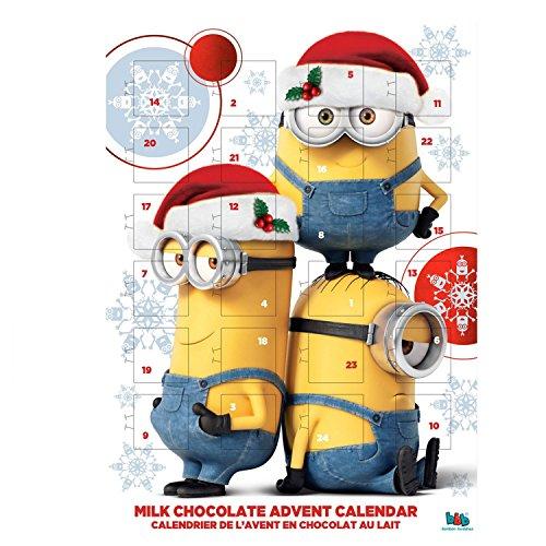 Minions Christmas Milk Chocolate Advent Calendar