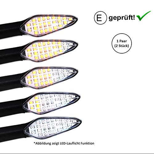 Preisvergleich Produktbild LED Blinker Suzuk-i GSX-R 1100,  GSX-R 650,  GSX-R 600,  400,  250 (E-Geprüft / 2Stück) (B5)