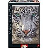 Puzzles Educa - Tigre blanco, puzzle de 500 piezas (15971)