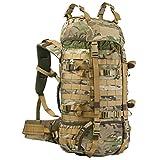 WiSPORT® Raccoon 45 Rucksack | 45 Liter | Militär | Cordura | MOLLE | Marschrucksack | Outdoor | Camping | Abenteuer, Tarnung:US Multicam