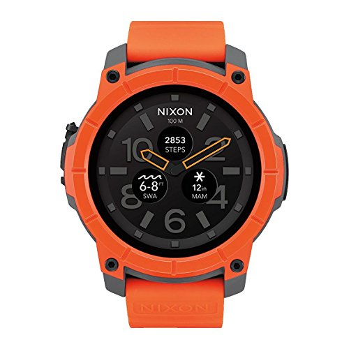 Nixon Men's Analogue Quartz Watch with Silicone Strap – A1167-2658-00