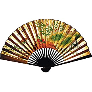 Chinese Wall Fan with Mandarin Ducks