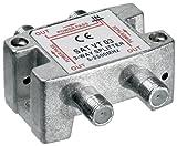3-fach Sat-Verteiler 100dB 5-2500 MHz digital-tauglich