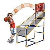 Instag Canestro da Basket per Bambini Videogioco di tiro Indoor Sport all'aperto gonfiabili di Pallacanestro Canestro da Basket in plastica Grande Pallacanestro ABS