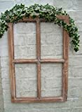 Fenster Sprossenfenster Bilderrahmen Wandobjekt, Wanddekoration Holz