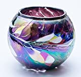 Milford Glass Collection -  Friendship Nightlight -  Purple Small
