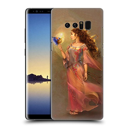 Offizielle Renee Biertempfel Botschafter Jungfrau Ruckseite Hülle für Samsung Galaxy Note8 / Note 8