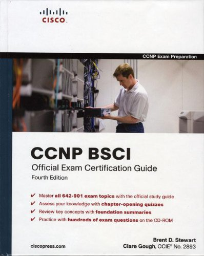 CCNP BSCI Official Exam Certification Guide por Brent Stewart