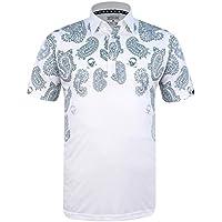 Tattoo Golf Hustler ProCool - Camiseta de Golf para Hombre, Hombre, Color Blanco, Tamaño XXXL