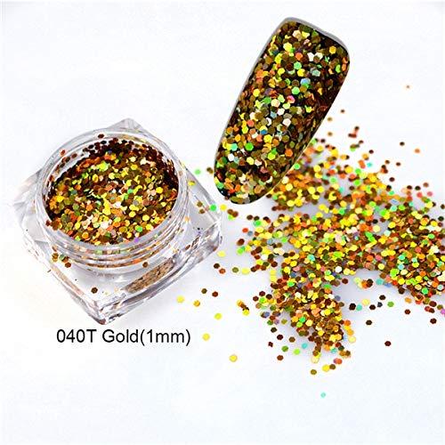 gold - feine glitzer pulver zur herstellung einer nail - art oder zusammensetzung mit gel, nagellack, gel, acryl - nägel und pulver, pailletten - heimwerker - nail - art