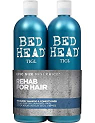 Bed Head by Tigi Urban Antidotes Recovery Shampoo and Conditioner for Dry Hair 2 x 750 ml
