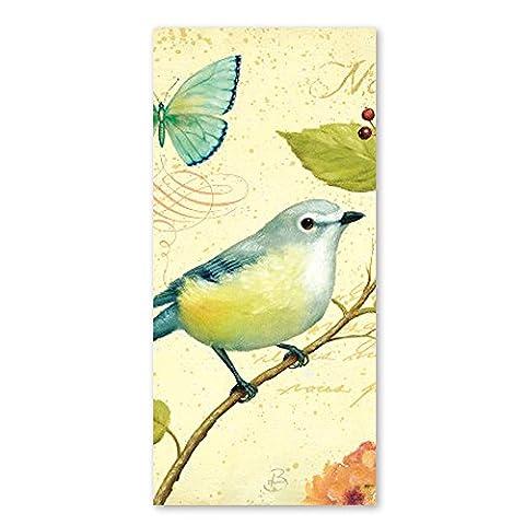 Gelb Vögel Design Bad Handtücher Mikrofaser Strandtuch Sales Dick Weich Quick Dry leicht, saugfähig, und Plüsch Badetuch 50,8x 101,6cm, design 1, 28 x 56 Inch