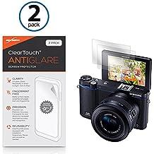 Samsung NX3300Protector de pantalla, BoxWave® [ClearTouch Anti-brillos (2-Pack)] antihuellas mate película piel Para Samsung NX3300