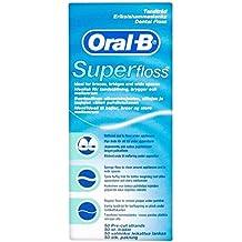Oral B Hebras Pre-Cortadas Superfloss (50) (Paquete de 6)