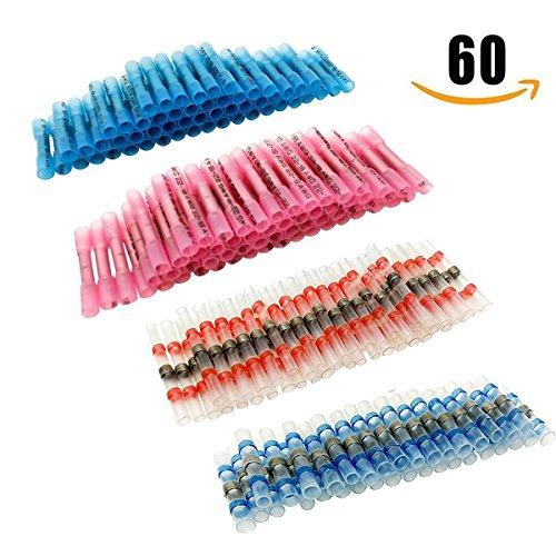 60pcs-strizzacervelli-di-calore-filo-connettori-geepro-saldare-seal-elettrico-crimpatrice-connettori