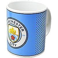 Manchester City FC Official Fade Ceramic Football Crest Mug